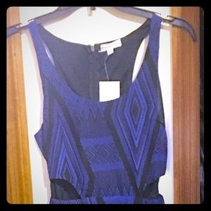 Long blue dress from Nordstrom Rack